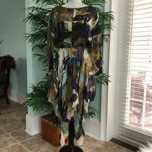 Anthropologie Dress Cut25 Handkerchief Hem